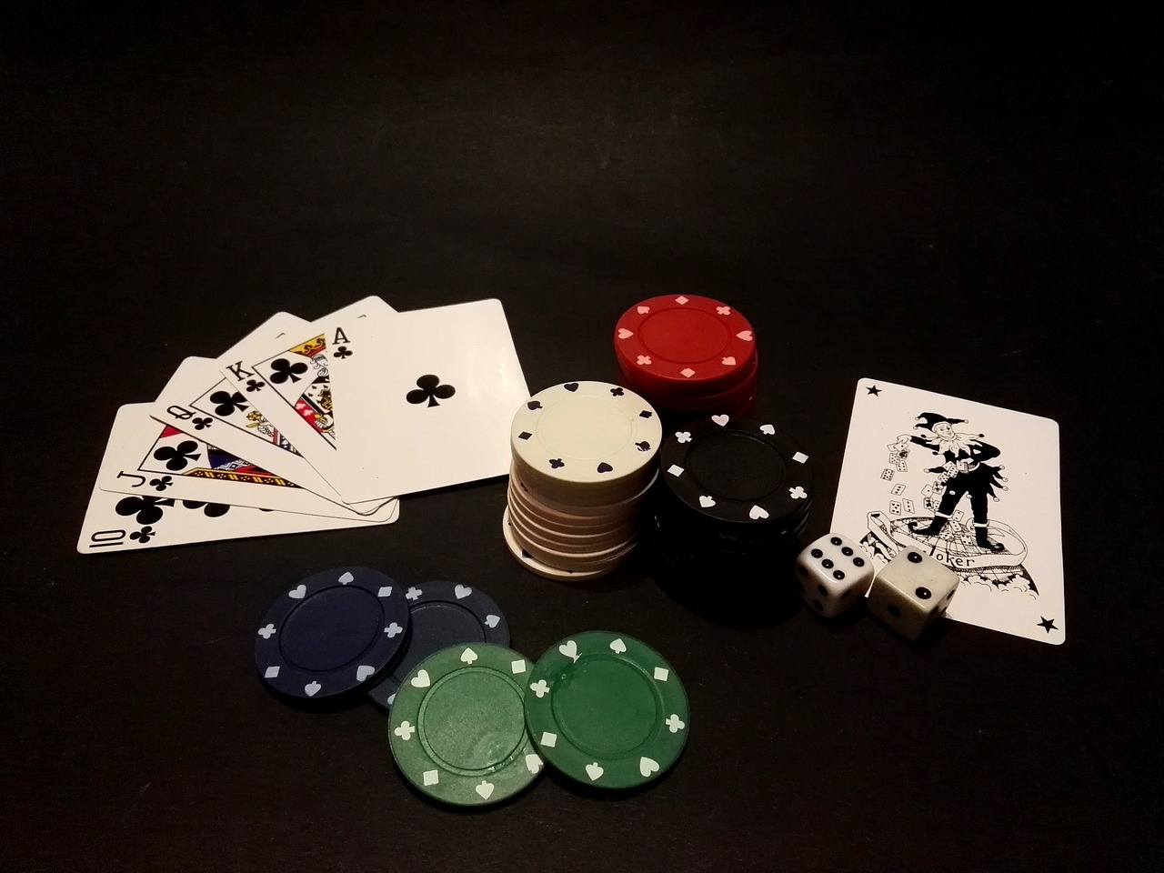 Jugar poker online. Fichas