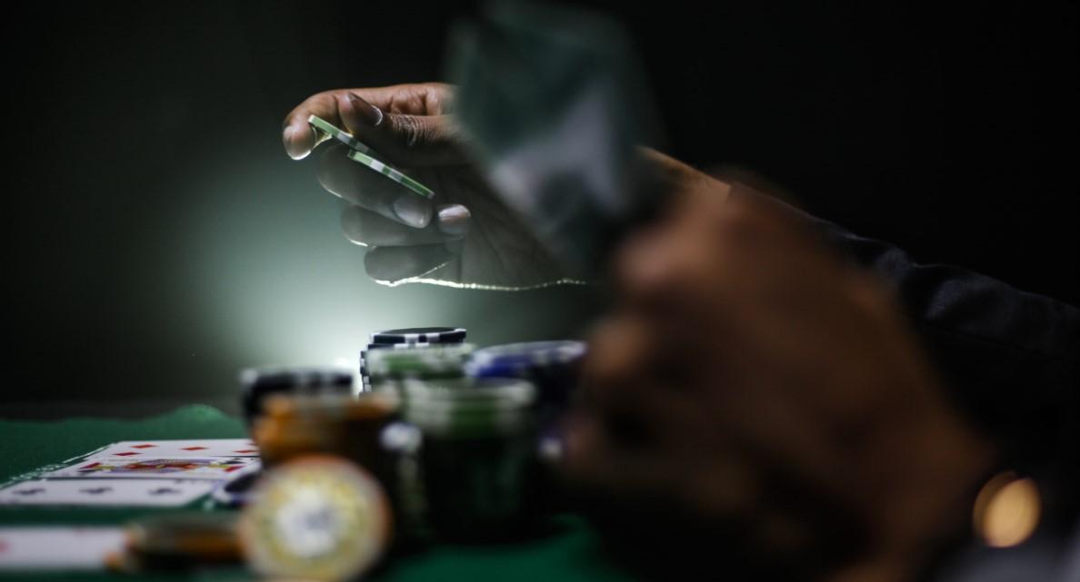 Partidas de poker. El ambiente